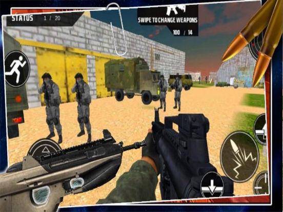 Swat Mission 3D screenshot 4