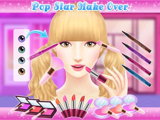 Angelina's Pop Star Salon - Spa & Makeup screenshot 8