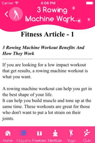 Deep stretch workout - náhled