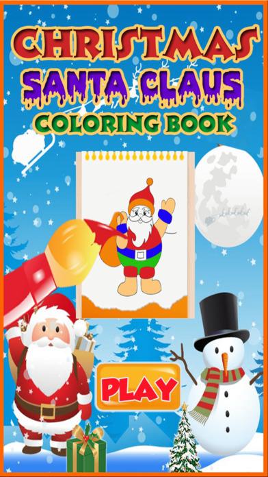 Santa Claus coloring pages screenshot 1
