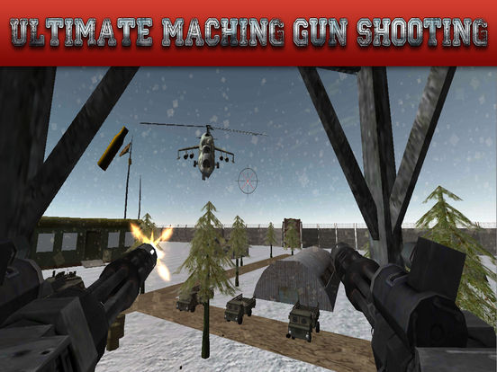 Gunship Rescue Force Battle Helicopter Attack Game screenshot 10