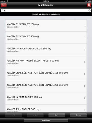 RxMediaPharma - iPad sürümü - náhled