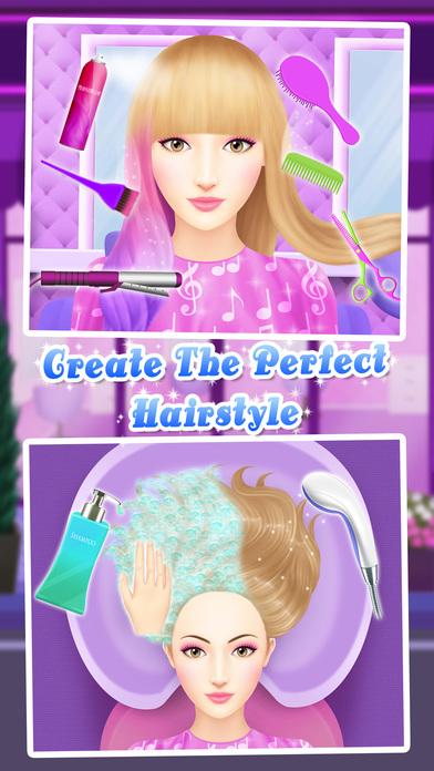 Angelina's Pop Star Salon - Spa & Makeup screenshot 4