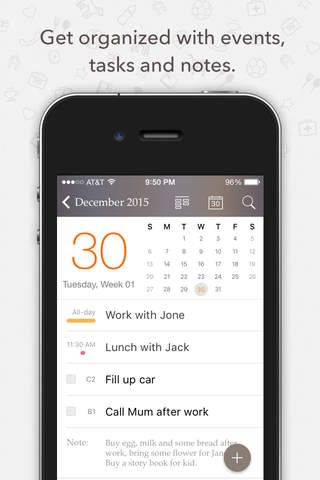Planner Pro - Daily Calendar & Personal Organizer - náhled