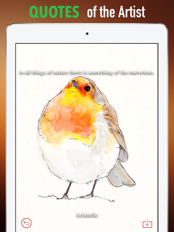 Watercolour Animals Wallpapers HD- Quotes and Art screenshot 9