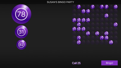 Bingo Caller Machine screenshot 1