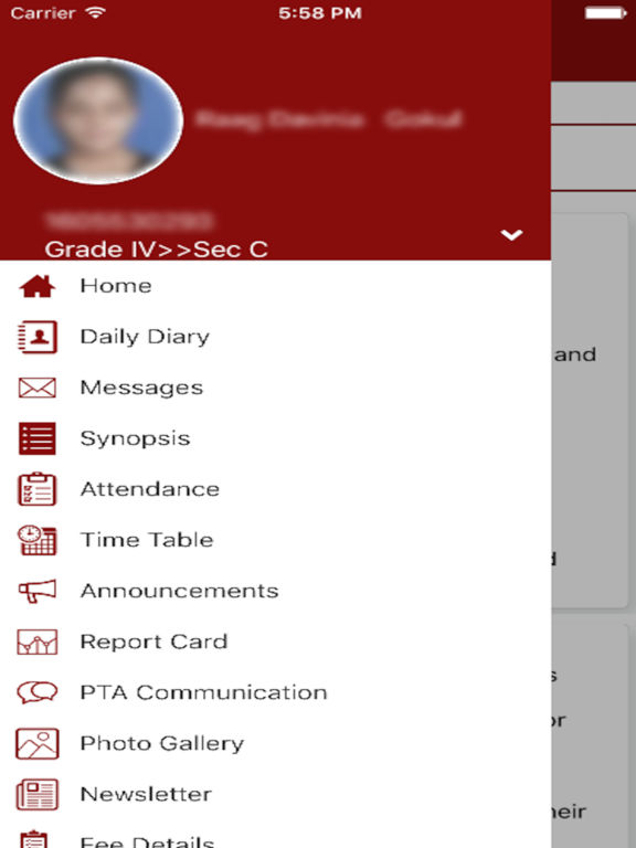 K12 Parent Portal screenshot 6
