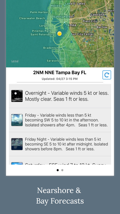 Florida Boating Weather screenshot 3
