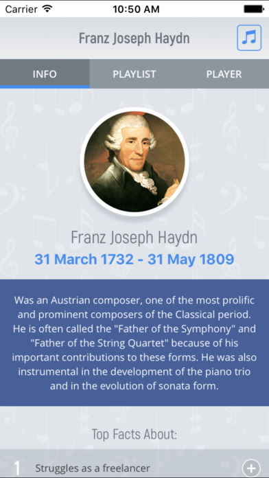 Joseph Haydn - Classical Music Full screenshot 1