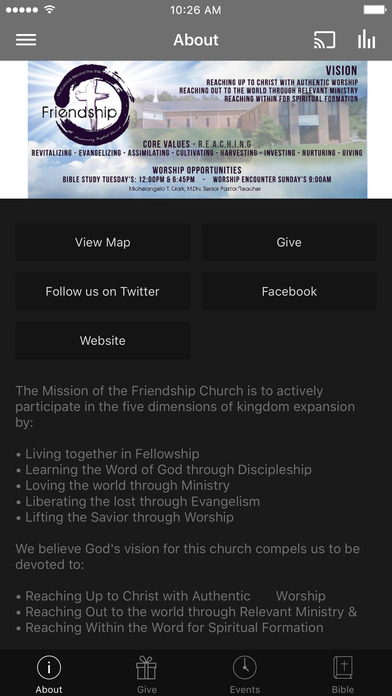 Friendship MB Church screenshot 1