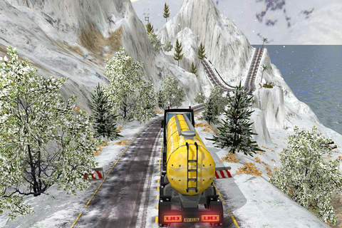 Grand Snow Truck Simulator : Cargo Truck Driver 3D - náhled