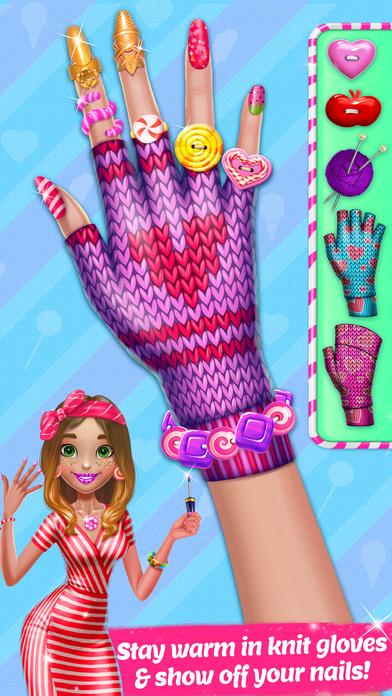 Candy Nail Art - Sweet Spa Fashion Game screenshot 5