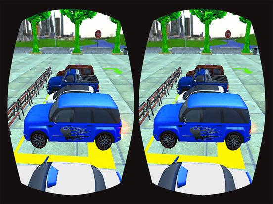 VR Prado Car Parking : Multi-Story Top Kids Game screenshot 6