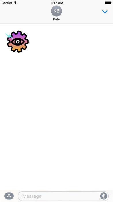 Animated Gear Word Stickers screenshot 2