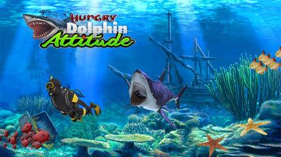 Hungry Dolphin Fish Simulator screenshot 1