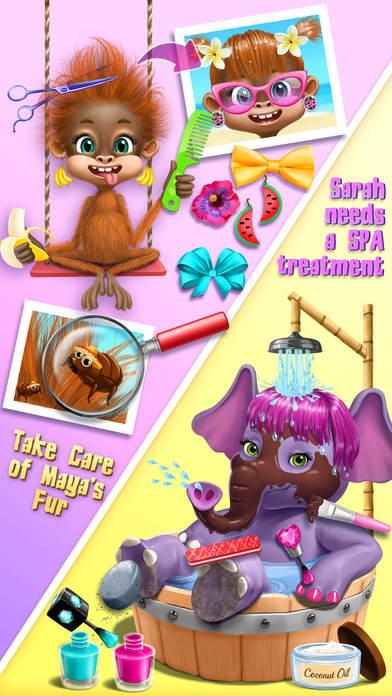 Jungle Animal Hair Salon 2 screenshot 4