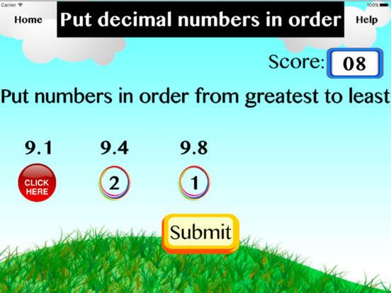 Put decimal numbers in order screenshot 4