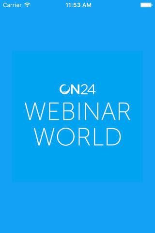 ON24 Webinar World 2017 - náhled