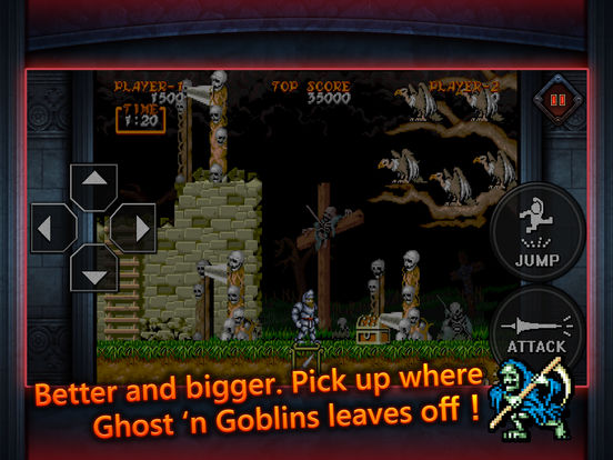 Ghouls'n Ghosts MOBILE screenshot 6