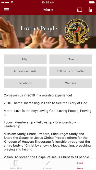 Misawa COGIC screenshot 3