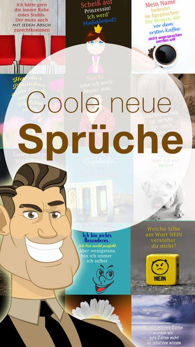 Coole neue Sprüche - Spruchbilder Witze zum Posten screenshot 1