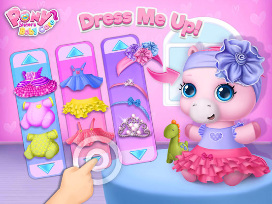 Pony Sisters Baby Horse Care - Babysitter Daycare screenshot 9