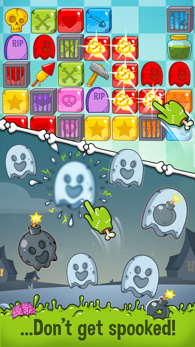 Zedd the Zombie - Grow Your Wacky Friend screenshot 4