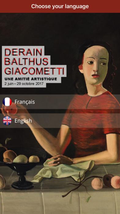 Derain, Balthus, Giacometti screenshot 1