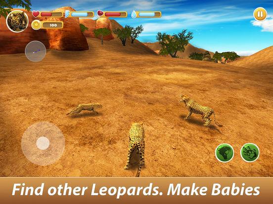 Leopard Family Simulator Full screenshot 6