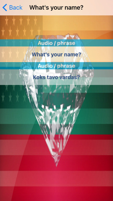 Lithuanian Phrases Diamond 4K Edition screenshot 3