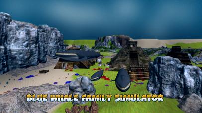 Blue Whale Family Simulator Full screenshot 1
