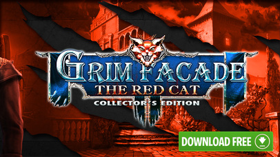 Grim Facade: The Red Cat - Hidden Objects screenshot 5