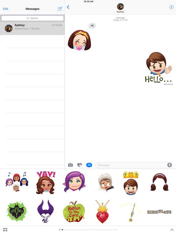 Disney Stickers: Descendants screenshot 8