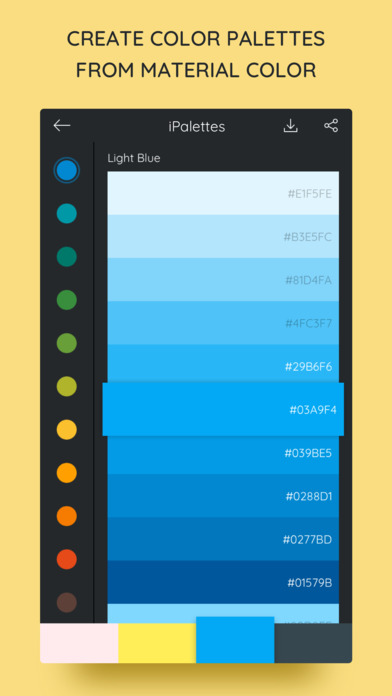 iPalettes - Color palettes screenshot 4