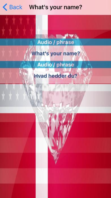 Danish Phrases Diamond 4K Edition screenshot 3