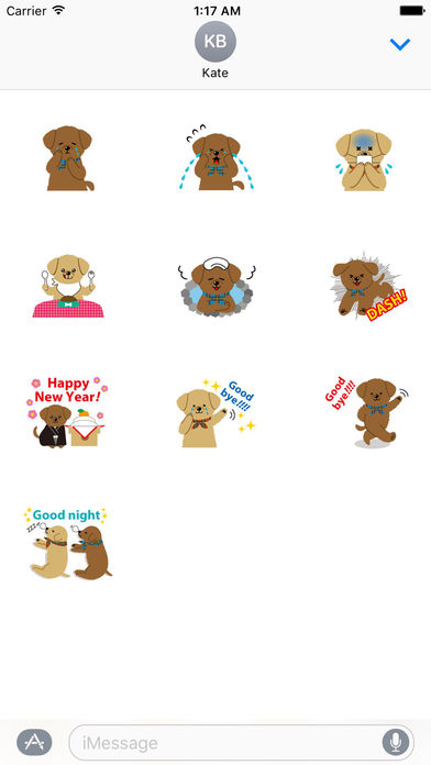 Two Adorable Puppies Sticker Packs screenshot 3