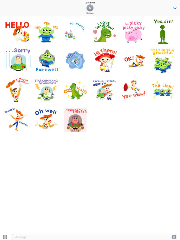 Pixar Stickers: Toy Story screenshot 10