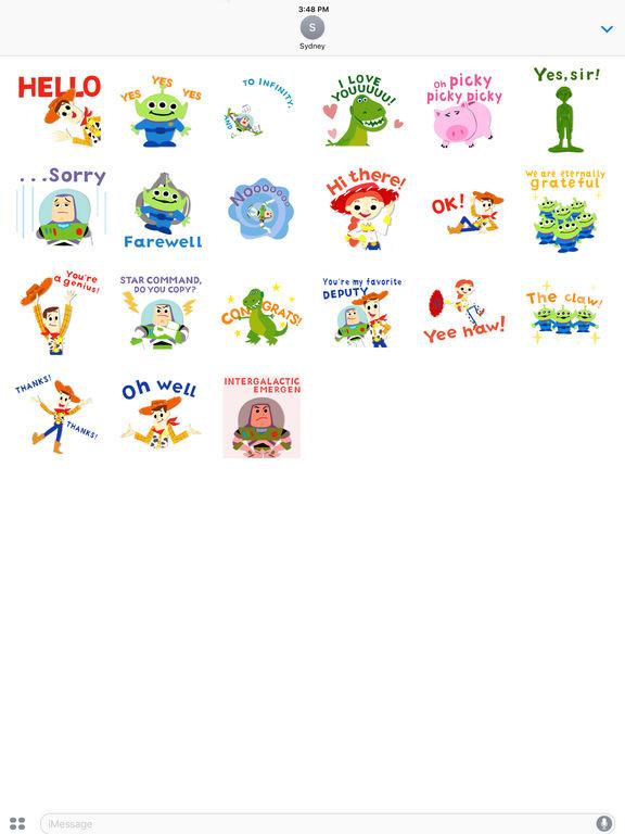 Pixar Stickers: Toy Story screenshot 10