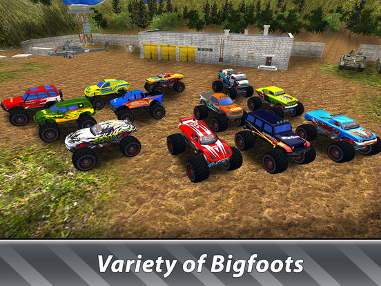Monster Trucks Offroad Simulator Full screenshot 7