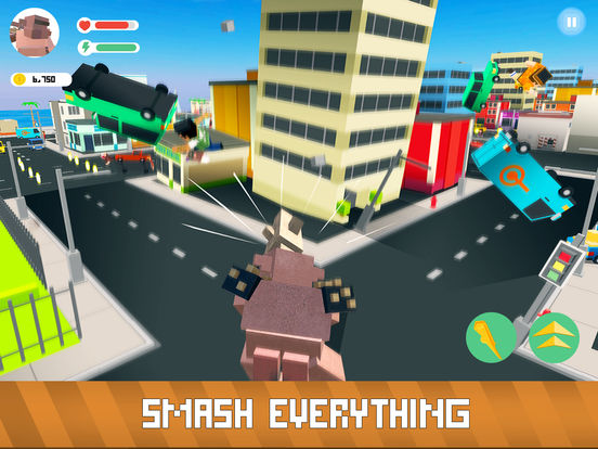 Blocky Monsters Smash Full screenshot 6