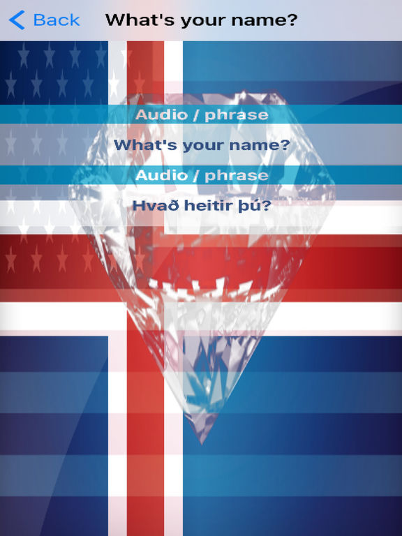 Icelandic Phrases Diamond 4K Edition screenshot 6