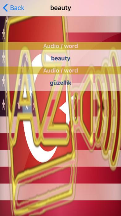 Turkish Dictionary GoldEdition screenshot 5
