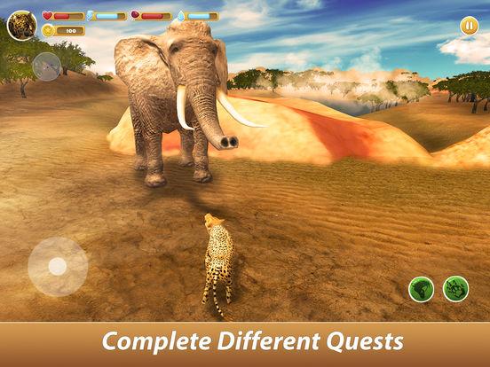 Leopard Family Simulator Full screenshot 8