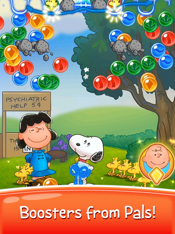 Bubble Shooter - Snoopy POP! screenshot 8