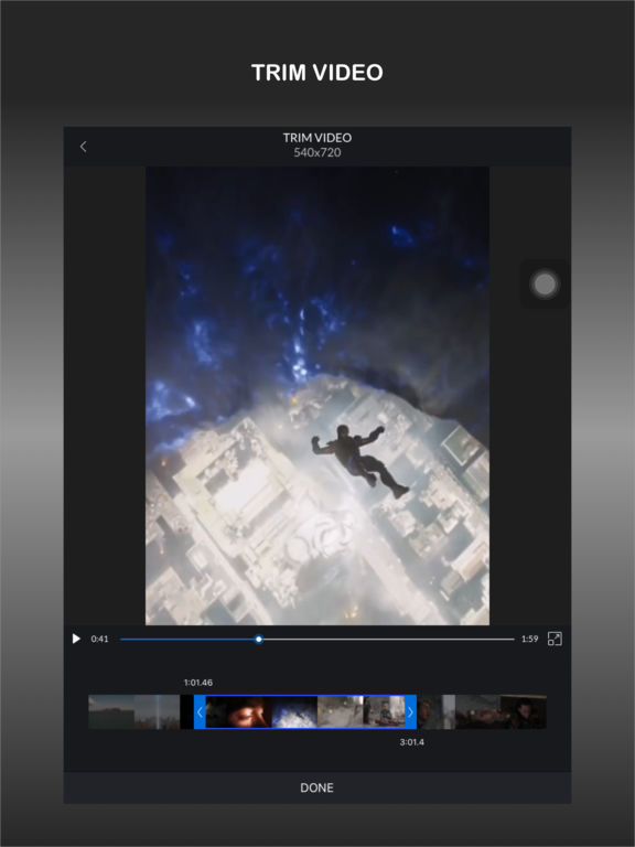 CrVid - Great video editor! screenshot 8