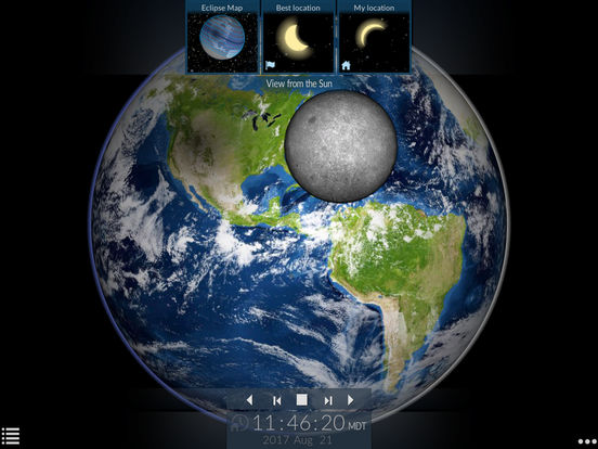 Solar Eclipse by Redshift screenshot 8