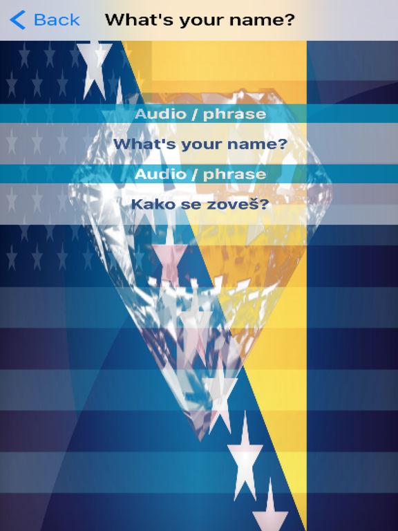 Bosnian Phrases Diamond 4K Edition screenshot 6