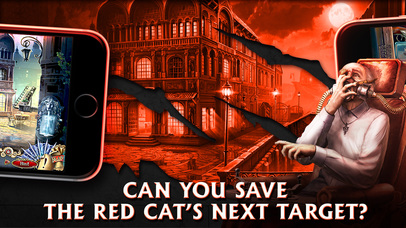 Grim Facade: The Red Cat - Hidden Objects screenshot 2