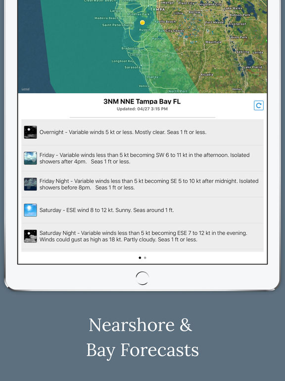 Florida Boating Weather screenshot 8