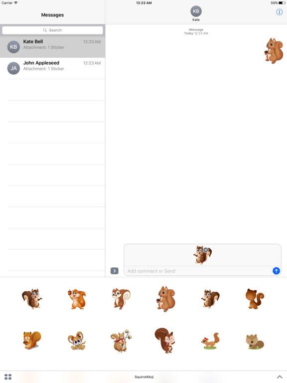 SquirrelMoji - Emoji And Stickers screenshot #2